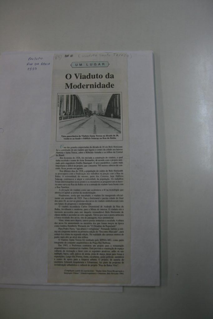 1995 - projeto rua da bahia 01