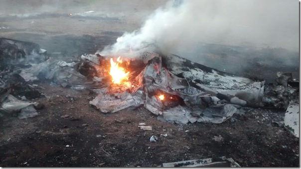 Após atacar acampamento Sem-Terra, prefeito de Central de Minas morre em queda de avião no município de Tumiritinga (MG)